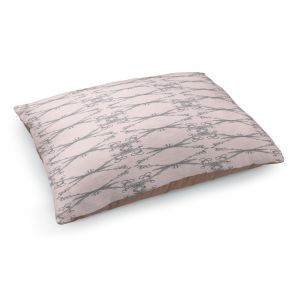 Decorative Dog Pet Beds | Julie Ansbro - Twigs Pink
