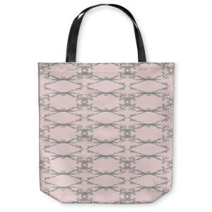 Unique Shoulder Bag Tote Bags   Julie Ansbro - Twigs Pink