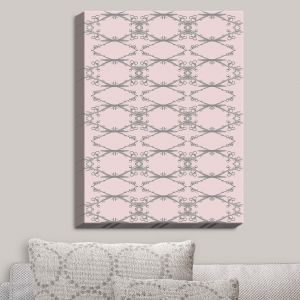 Decorative Canvas Wall Art   Julie Ansbro - Twigs Pink   Patterns