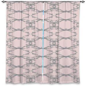 Decorative Window Treatments   Julie Ansbro - Twigs Pink