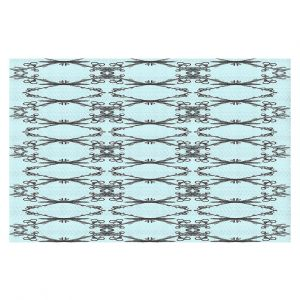 Decorative Floor Coverings | Julie Ansbro - Twigs Turquoise