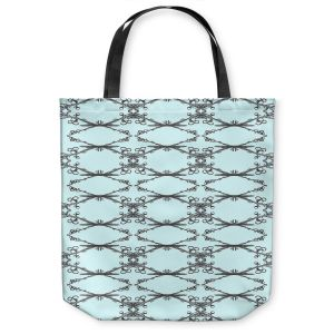 Unique Shoulder Bag Tote Bags | Julie Ansbro - Twigs Turquoise