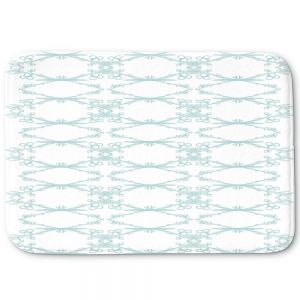 Decorative Bathroom Mats | Julie Ansbro - Twigs White