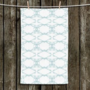 Unique Hanging Tea Towels | Julie Ansbro - Twigs White | Patterns