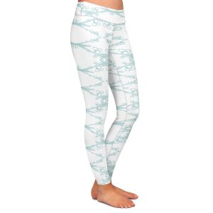 Casual Comfortable Leggings | Julie Ansbro - Twigs White