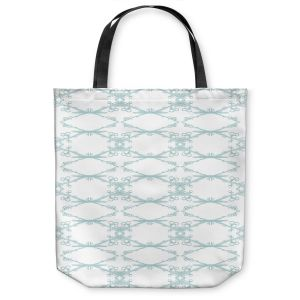Unique Shoulder Bag Tote Bags | Julie Ansbro - Twigs White