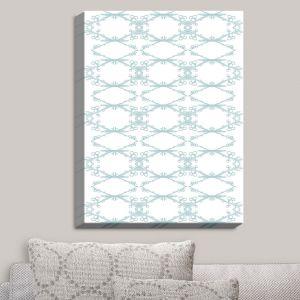 Decorative Canvas Wall Art | Julie Ansbro - Twigs White | Patterns