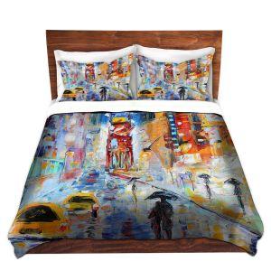 Artistic Duvet Covers and Shams Bedding | Karen Tarlton - A New York New Year