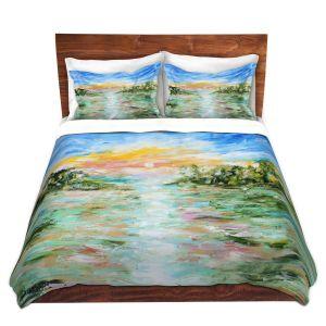 Artistic Duvet Covers and Shams Bedding   Karen Tarlton - Abstract Ocean Rocks   coast sea water nature landscape