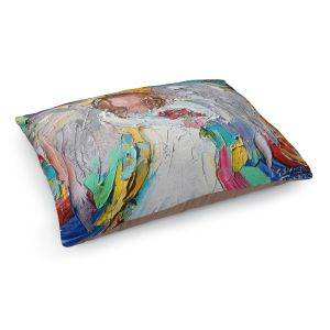 Decorative Dog Pet Beds | Karen Tarlton - Angel Flowers
