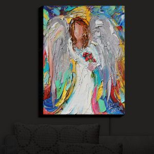 Nightlight Sconce Canvas Light | Karen Tarlton - Angel Flowers | Angels Flowers