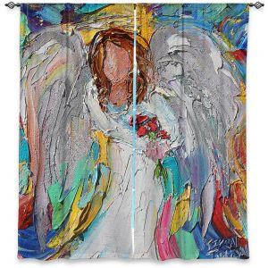 Decorative Window Treatments | Karen Tarlton - Angel Flowers