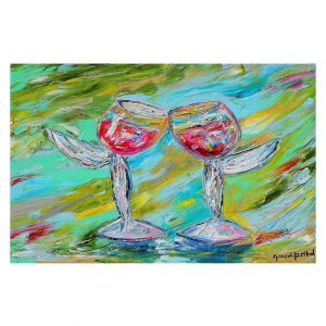 Decorative Floor Coverings | Karen Tarlton - Angel Glasses