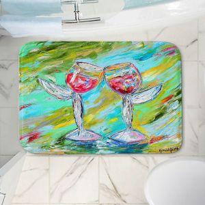 Decorative Bathroom Mats | Karen Tarlton - Angel Glasses