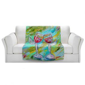 Artistic Sherpa Pile Blankets   Karen Tarlton - Angel Glasses