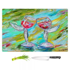 Artistic Kitchen Bar Cutting Boards | Karen Tarlton - Angel Glasses