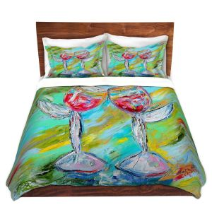 Artistic Duvet Covers and Shams Bedding | Karen Tarlton - Angel Glasses