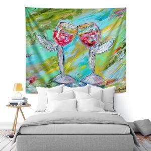 Artistic Wall Tapestry | Karen Tarlton - Angel Glasses
