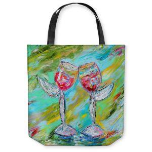 Unique Shoulder Bag Tote Bags | Karen Tarlton - Angel Glasses