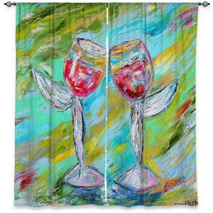 Decorative Window Treatments | Karen Tarlton - Angel Glasses