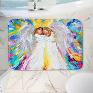 Decorative Bathroom Mats | Karen Tarlton - Angel Hugs 2 | Spiritual People