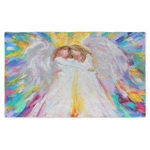 Artistic Pashmina Scarf   Karen Tarlton - Angel Hugs 2   Spiritual People