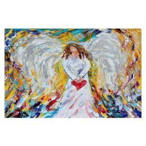Decorative Floor Coverings | Karen Tarlton Angel of My Heart