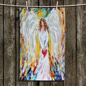 Unique Bathroom Towels   Karen Tarlton - Angel of My Heart
