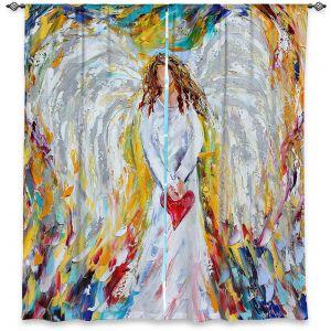 Decorative Window Treatments | Karen Tarlton Angel of My Heart