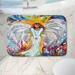 Decorative Bathroom Mats | Karen Tarlton - Angel Watching Over Me