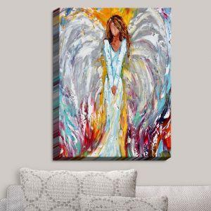 Decorative Canvas Wall Art | Karen Tarlton - Angel Watching Over Me