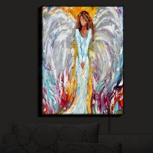Nightlight Sconce Canvas Light | Karen Tarlton's Angel Watching Over Me