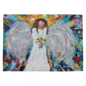Countertop Place Mats | Karen Tarlton - Angel With Sunflowers