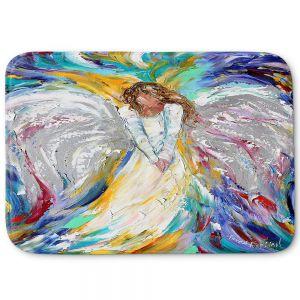 Decorative Bathroom Mats | Karen Tarlton - Angel 1 | Heaven Paint