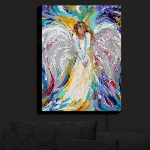 Nightlight Sconce Canvas Light | Karen Tarlton's Angel 1
