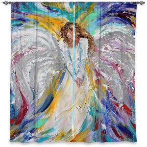 Decorative Window Treatments | Karen Tarlton - Angel 1 | Heaven Paint