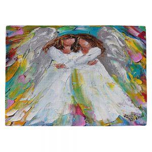 Countertop Place Mats | Karen Tarlton - Angel Hugs | spiritual heaven abstract painterly