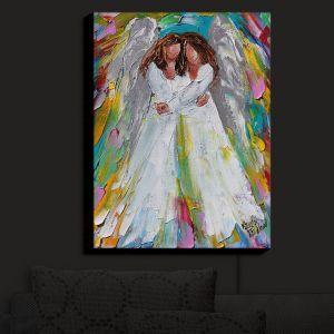 Nightlight Sconce Canvas Light | Karen Tarlton - Angel Hugs