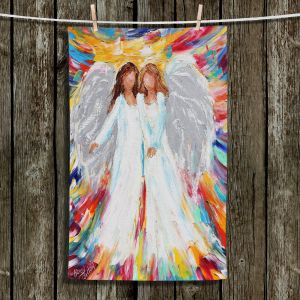 Unique Hanging Tea Towels | Karen Tarlton - Angels | Religion Religious Heaven