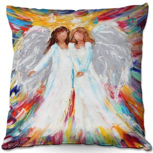 Throw Pillows Decorative Artistic | Karen Tarlton - Angels | Religion Religious Heaven