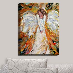 Decorative Canvas Wall Art | Karen Tarlton - Autumn Angel