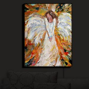 Nightlight Sconce Canvas Light | Karen Tarlton's Autumn Angel