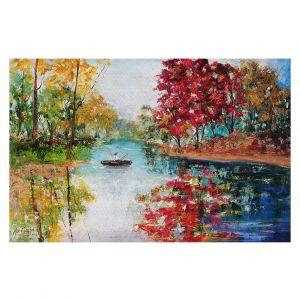 Decorative Floor Coverings | Karen Tarlton - Autumn Early Morning Serenity