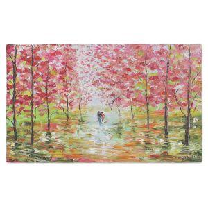 Artistic Pashmina Scarf | Karen Tarlton - Autumn Spring Romance | Forest Trees Park