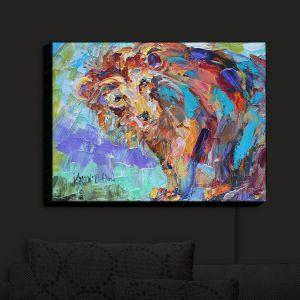 Nightlight Sconce Canvas Light | KarenTarlton - Bear There | Grizzly Bear