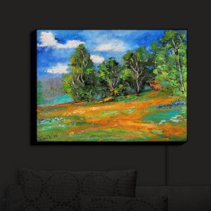 Nightlight Sconce Canvas Light | Karen Tarlton - California Sun | Nature Trees