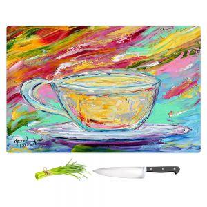 Artistic Kitchen Bar Cutting Boards | Karen Tarlton - Camomille Tea