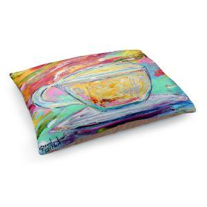 Decorative Dog Pet Beds | Karen Tarlton - Camomille Tea