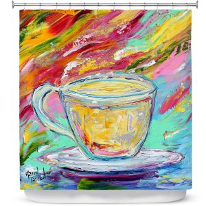 Premium Shower Curtains | Karen Tarlton - Camomille Tea