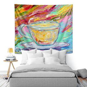 Artistic Wall Tapestry | Karen Tarlton - Camomille Tea